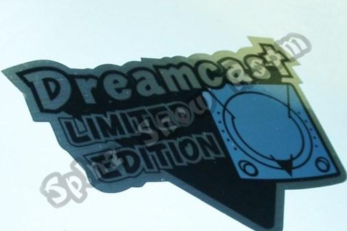 Sticker Dreamcast Pearl Blue