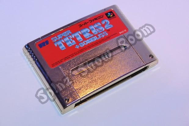 Super Tetris 2 + Bombliss Gold Cartridge