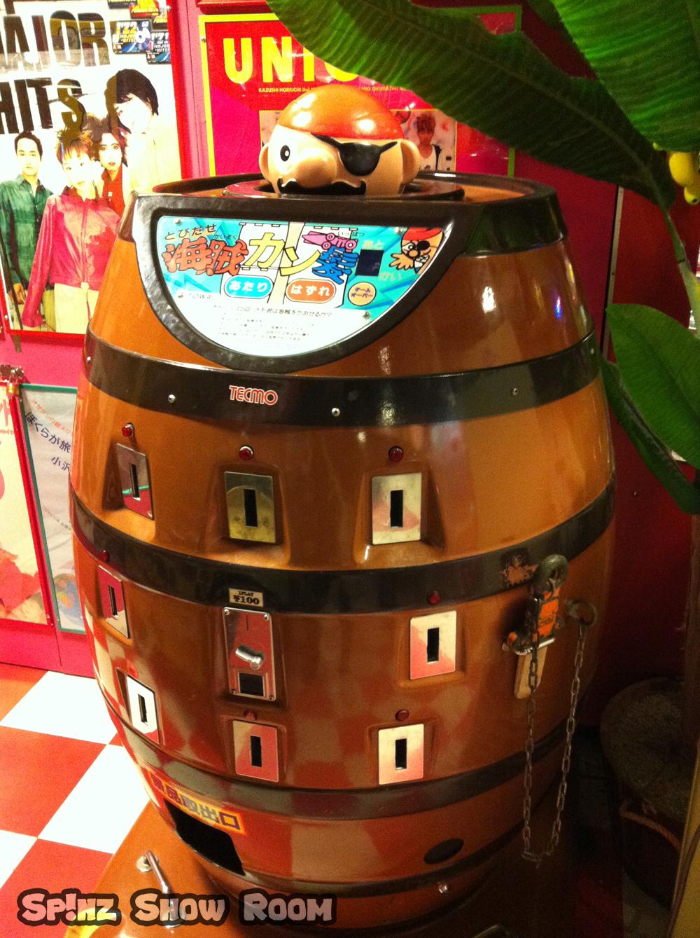 borne arcade tonneau