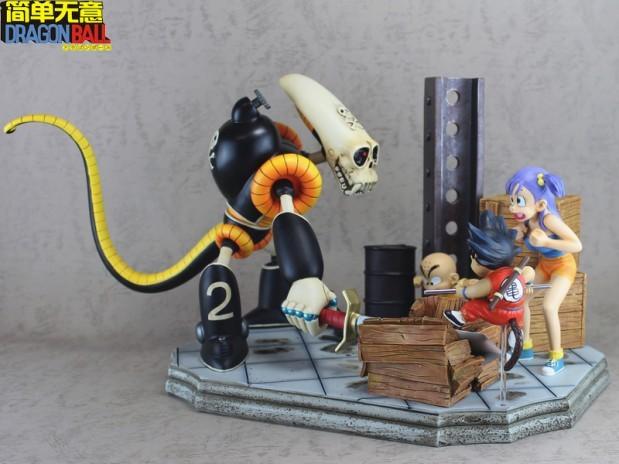 Dragon Ball Goku, Kurillin & Bulma Vs Pirate