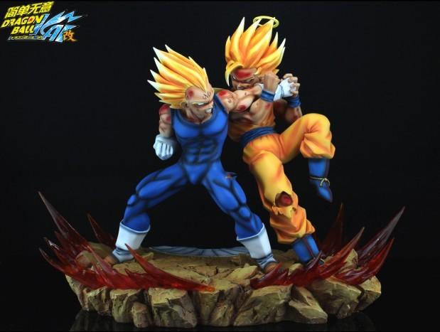 Goku vs Majin Vejita