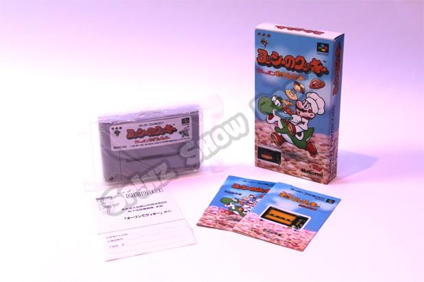 Yoshi no Cookie Kuruppon Oven de Cookie Super Famicom Content