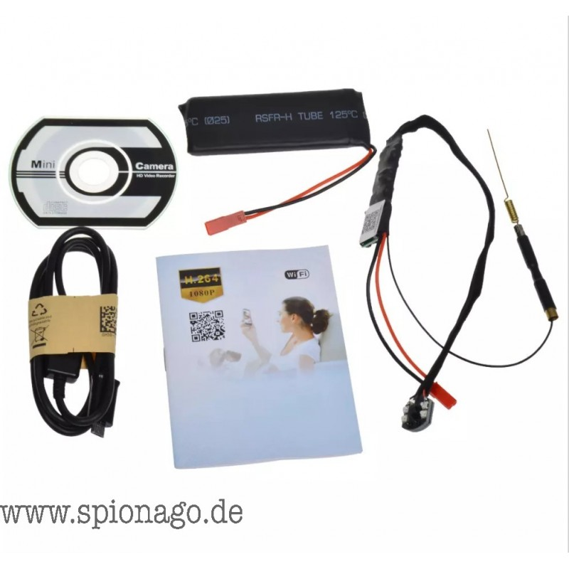 NEU Mini HD Spy Kamera  unsichtbar  Prfung