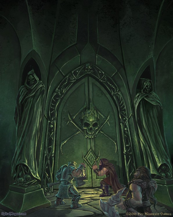 At the lich's doorstep