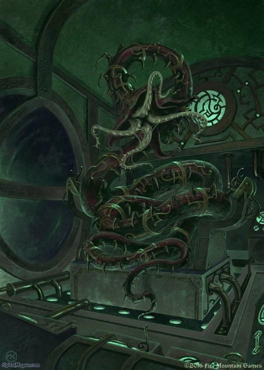Sub control room