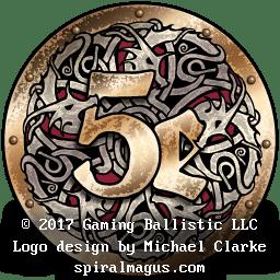 Gaming Ballistic 5e Logo Design