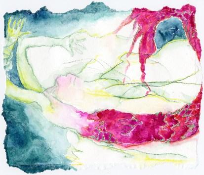 "Rachel Dobson, ""Sloughing off the skin (1),"" 2015"