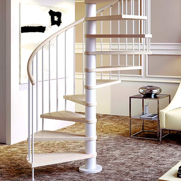 Spiral Staircase Design Archives Spiral Stairs Direct Blog | Semi Spiral Staircase Design | Curved Staircase | Residential Library | Interior | Futuristic | Iron