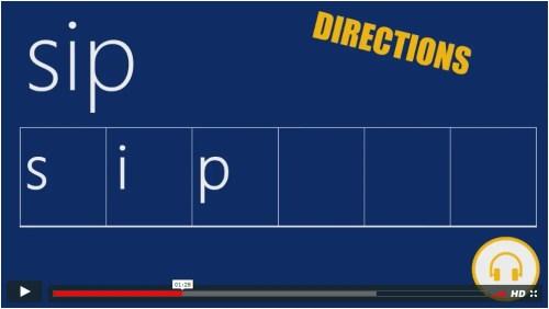 Phoneme-Grapheme Mapping in Word Study Warm-Ups
