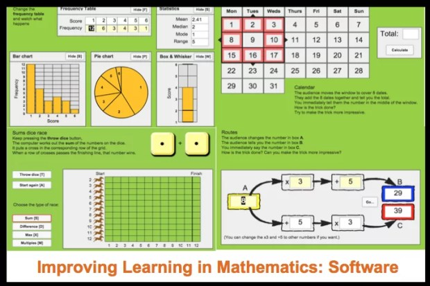 Improving Learning in Mathematics: Software