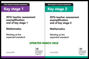 2016 teacher assessment exemplification: end of KS1 and 2 (March update)