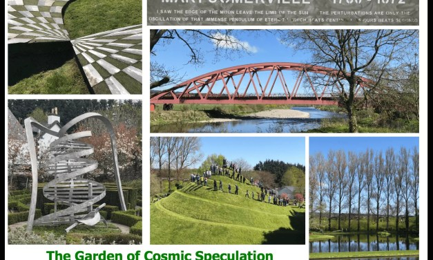 The Garden of Cosmic Speculation – 6 May 2018 Visit