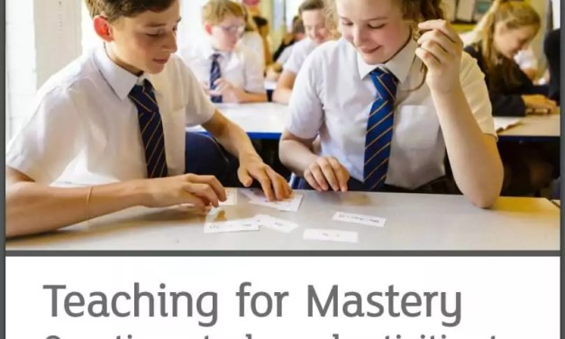 NCETM KS3 Teaching for Mastery Assessment materials
