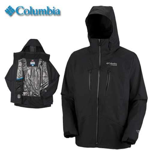 Columbia Sportswear Mens Titanium Stormin' Warm Jacket (WM2103)