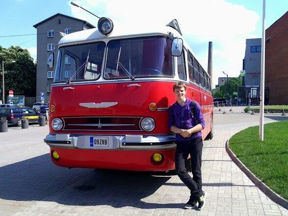 Автобус в Таллине