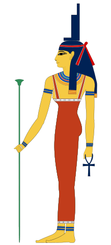Ancient Egyptian goddess Isis
