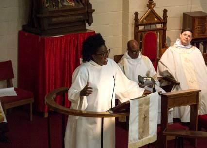 Photograph of the Absalom Jones Celebration held at St. Augustine's Episcopal Church, Kansas City, on February 13, 2017. Image credit: Gary Zumwalt
