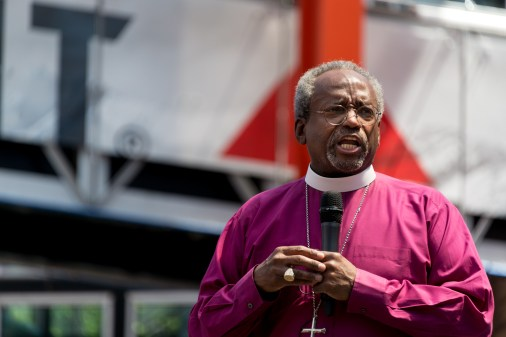 Presiding Bishop Michael Curry. Image credit: Gary Zumwalt