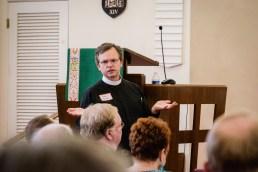 Fr. John Spicer, St. Andrew's Kansas City Image credit: Gary Allman