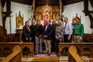 On the afternoon of Sunday October 22, 2017, Confirmations and Reaffirmations into the Episcopal Church were held at St. John\'s in Springfield. Churches taking part were: Christ Episcopal Church, Springfield and St. John\'s Episcopal Church, Springfield. Image credit: Gary Allman