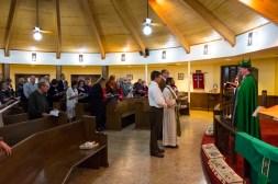 Fr. Jos Tharakan was installed as the new rector at St. James' Episcopal Church, Springfield, MO on December 1, 2017 Image credit: Gary Allman