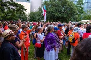 Bishops United Against Gun Violence. Image: Gary Allman