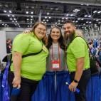 Meredith Seaton, Liz Trader and Josh Trader. Image: Gary Allman