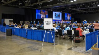 House of Deputies Media Area. Image: Gary Allman