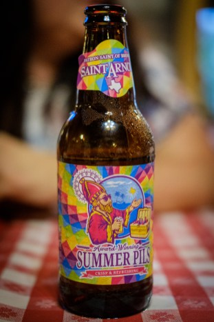 Saint Arnold Summer Pils. Image: Gary Allman