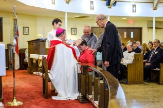 Thursday November 1, Area Confirmations at St. James Episcopal Church, Springfield. Image: Gary Allman