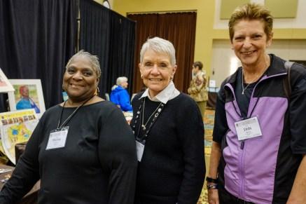Shirly Bolden, Judy Turner and Debi Sierra. Image: Gary Allman