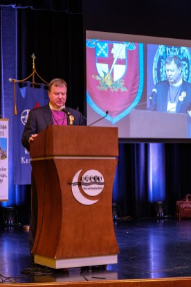Bishop Marty's Address to Convention. Image: Gary Allman
