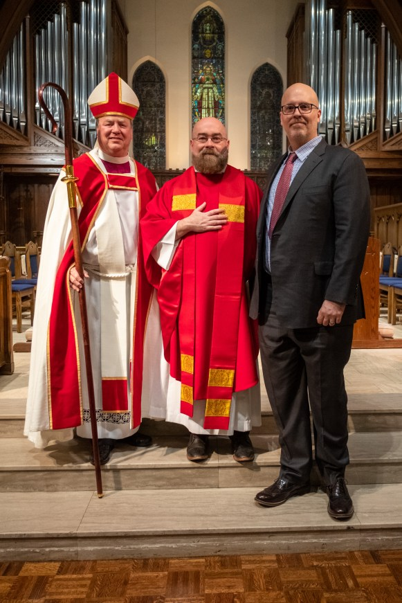 The Ordination of Jeffrey Neal Stevenson in to the Sacred Order of the Priesthood. Image: Gary Allman