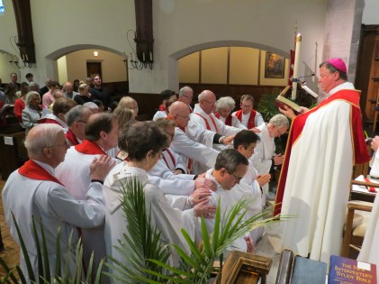 On Saturday May 11, 2019, St. Andrew's Episcopal Church, Kansas City hosted the Ordinations to the Sacred Order of Priests of the Rev. William Jeffrey Hurst, the Rev. Dr. Sean KimImage credit: Donna Field