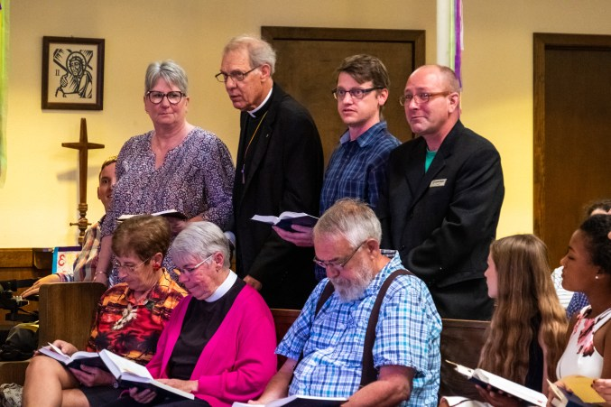 Shepherd of the HIlls, Branson. Area Confirmations at St. James Episcopal Church, Springfield. Saturday May 18, 2019. Image credit: Gary Allman