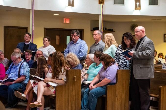 Grace Episcopal Church, Carthage. Area Confirmations at St. James Episcopal Church, Springfield. Saturday May 18, 2019. Image credit: Gary Allman