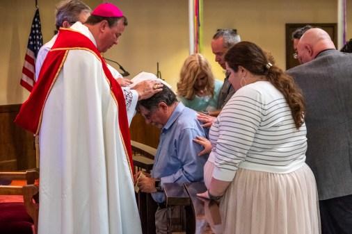Grace Episcopal Church, Carthage. Area Confirmations at St. James Episcopal Church, Springfield. Saturday May 18, 2019. Image credit: Gary Allman