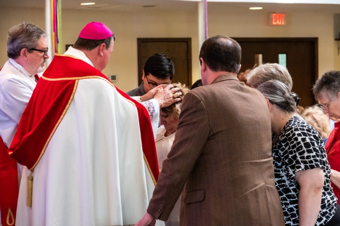 St. John's Episcopal Church, Springfield. Area Confirmations at St. James Episcopal Church, Springfield. Saturday May 18, 2019. Image credit: Gary Allman