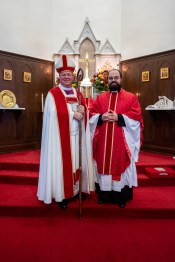 Bishop Marty & Fr. Joe. Image credit: Gary Allman