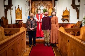 Area Confirmations at St. John's Episcopal Church. December 5, 2020. Image credit: Gary Allman