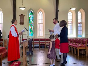 The Ordination of Ryan Wiksell to the Sacred Order of Deacons. Supplied image