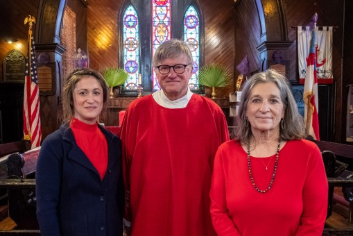 On Saturday, March 27, 2021, Michael Richard Johns was ordained into the Sacred Order of Deacons at Grace Episcopal Church, Chillicothe. Image credit: Gary Allman