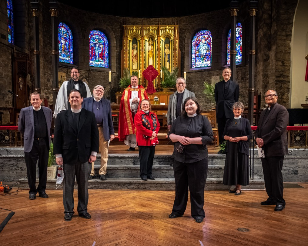 Those representing The Diocese of West Missouri, The Episcopal Church. Image credit: Gary Allman, The Diocese of West Missouri