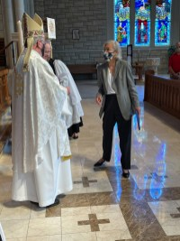 Lay Preacher Certificate, Regina Berens, St. Mary Magdalene, Belton. Image credit: the Rt. Rev Martin S. Field