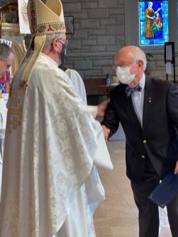 Lay Preacher Certificate, Dan Philbrick, St. Thomas a Becket, Cassville. Image credit: the Rt. Rev Martin S. Field
