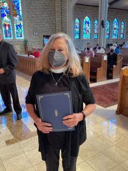 Diaconal Studies the Rev. Deacon Linda Hurt, St. Mary's, Kansas City. Image credit: the Rt. Rev Martin S. Field