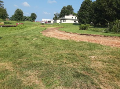 Driveway excavated. Image: Chandler Jackson