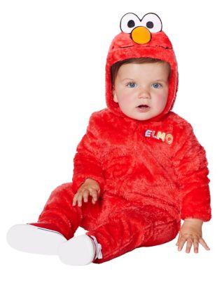 Toddler Elmo One Piece Costume Seasame Street