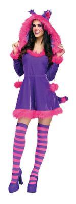 Adult Furry Cheshire Cat Costume