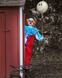 5 Ft Evil Clown Animatronics - Decorations ...